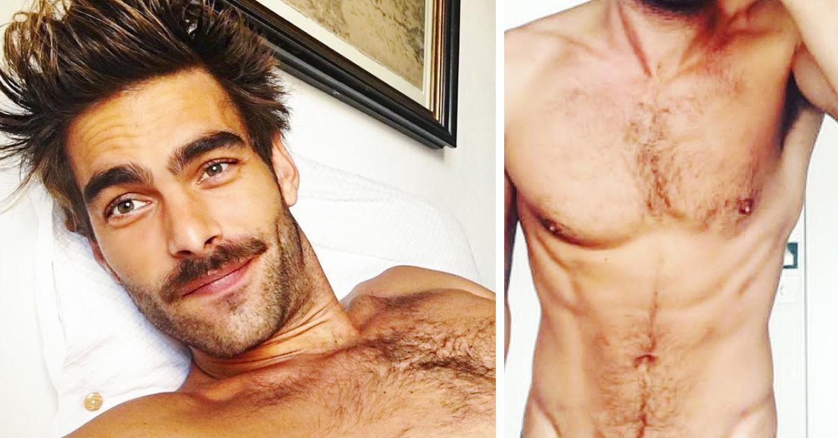Se extiende por las redes la imagen del supermodelo Jon Kortajarena desnudo y con resaca