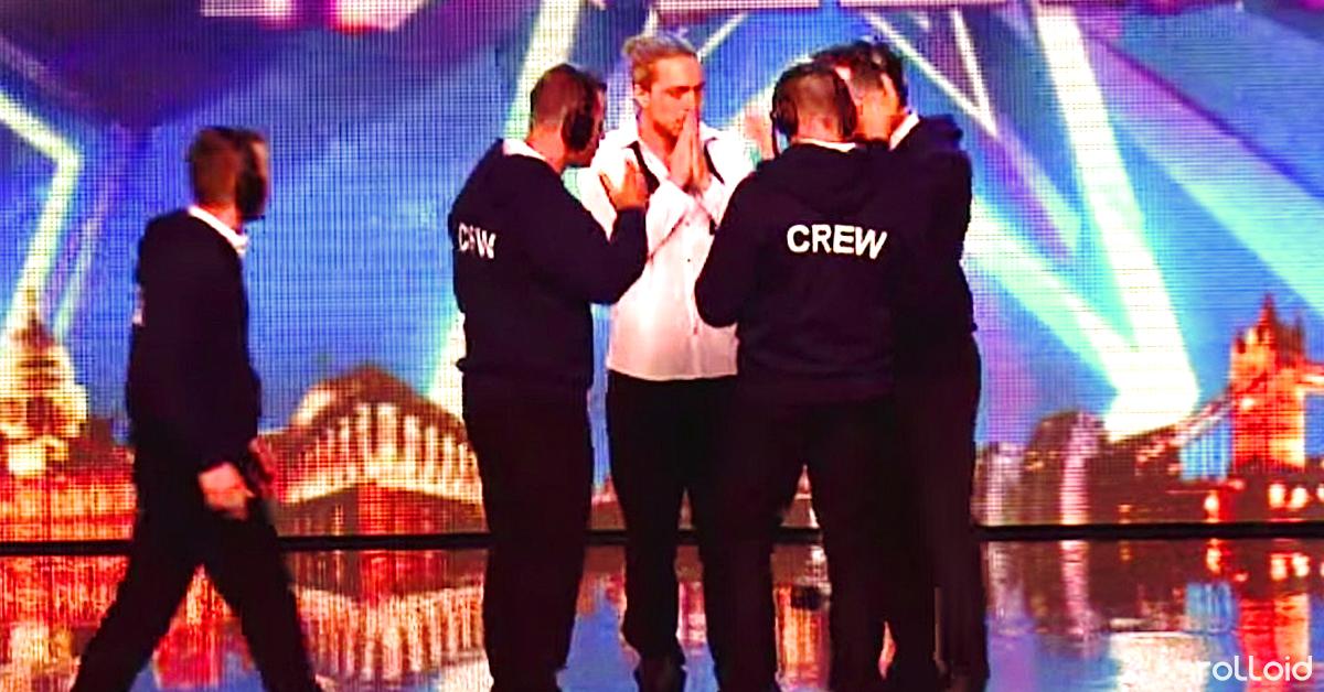 El Equipo de Got Talent interviene deteniendo el espectáculo y el escenario se pone caliente