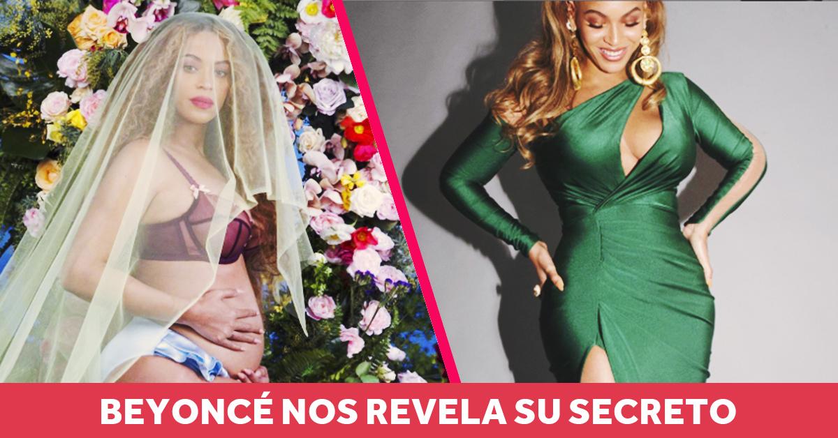 Beyoncé nos cuenta cómo recuperar un cuerpo 10 y perder peso después del embarazo