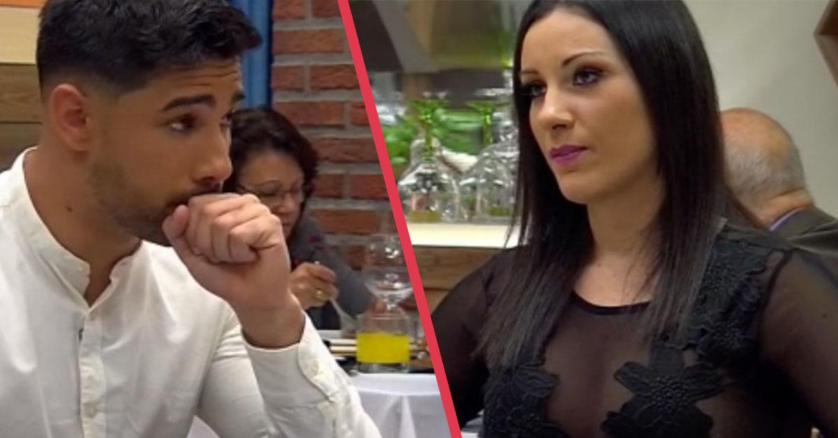 «Me entra una caló», el sensual momento de una pareja en First Dates que ha provocado bromas en las redes