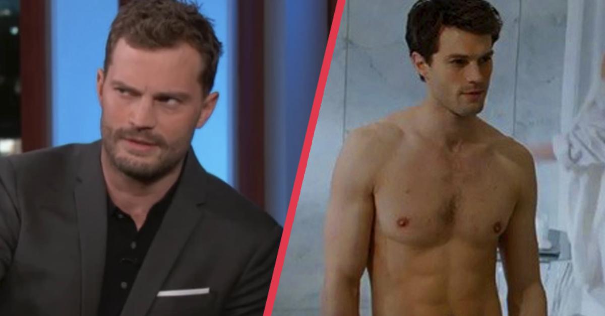 Jamie Dornan se libera contando cómo oculta sus partes en las escenas de sexo en 50 Sombras de Grey