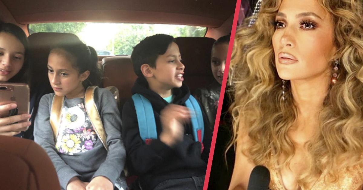 Jennifer López se convierte en el centro de críticas al compartir un imprudente vídeo en su coche