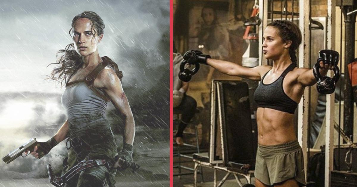 La actriz Alicia Vikander comparte la dieta y el entrenamiento que ha seguido para convertirse en Lara Croft