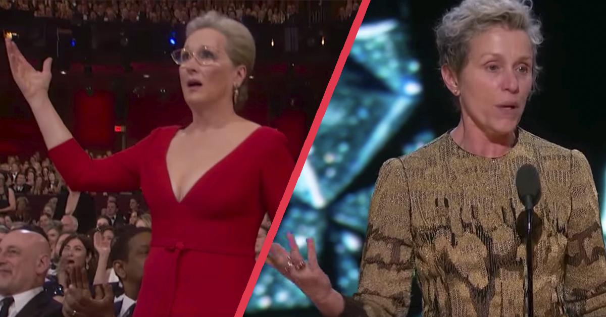 «No habléis con nosotras» Frances McDormand se gana a Hollywood con el discurso de la noche durante los Oscar