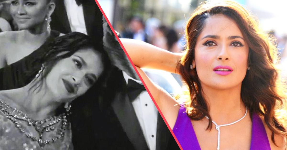 Salma Hayek y la inesperada pareja que se ha llevado como cita a la Gala de los Oscar