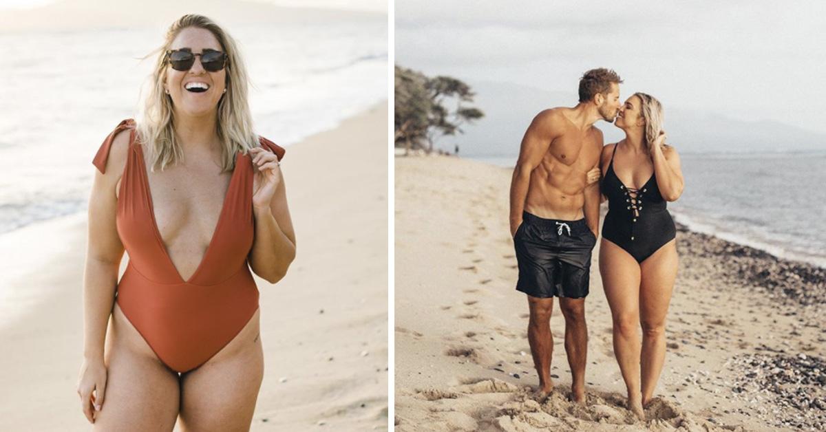 La viral respuesta de una 'influencer curvy' con un marido «demasiado guapo para ella»