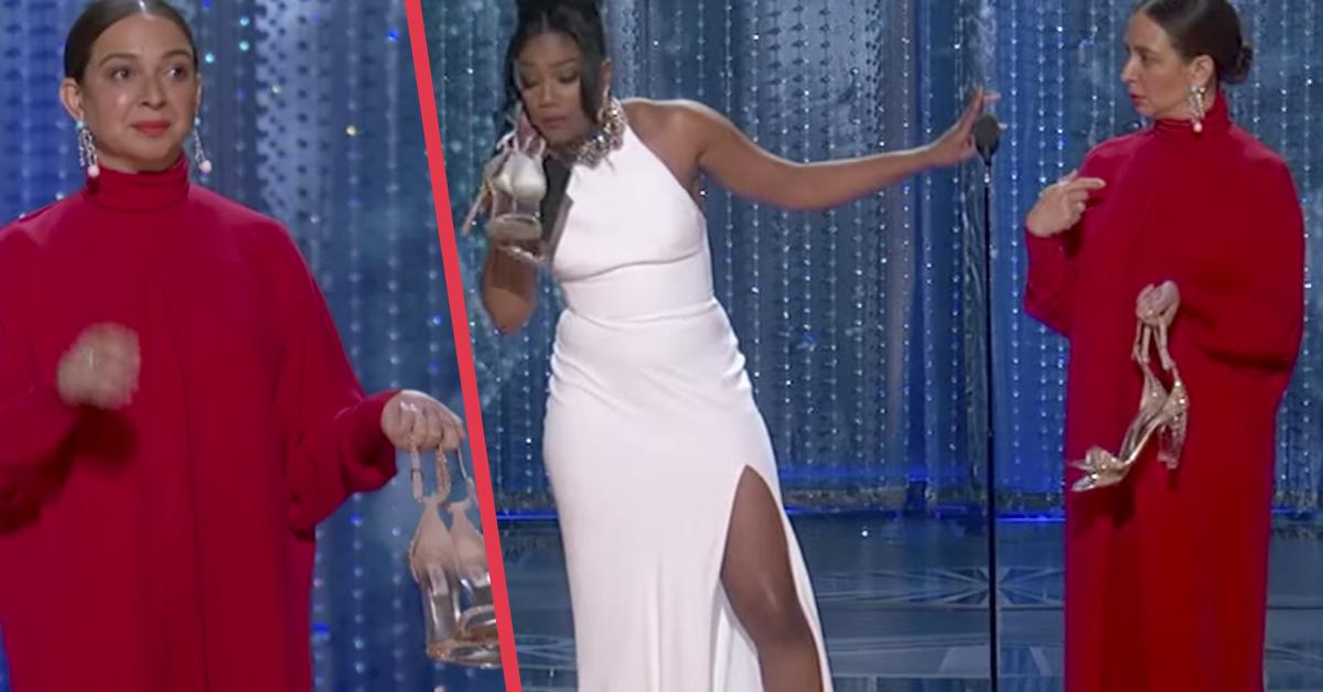 Tiffany Haddish y Maya Rudolph se quitan los tacones para quejarse de «lo negro» que estaban siendo los Oscar