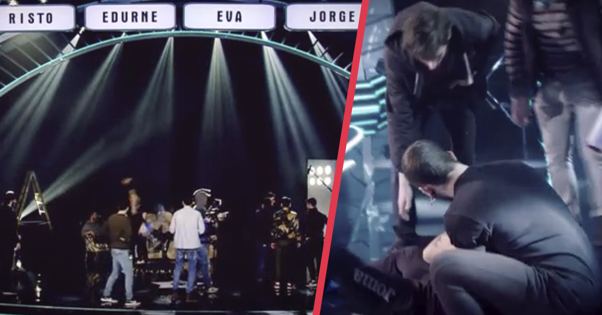 Un concursante de Got Talent pierde el conocimiento en el plató tras una caída durante una acrobacia