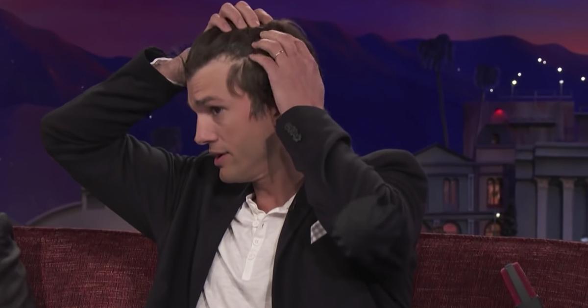Ashton Kutcher se sincera sobre sus gorras que siempre lleva puestas después de años en silencio