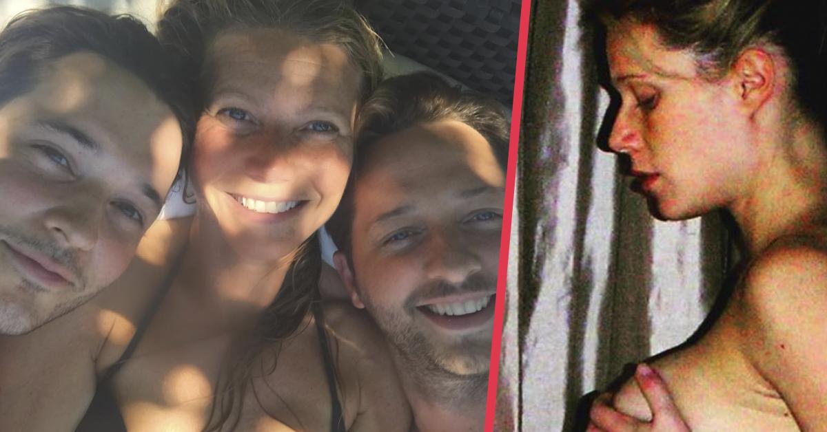 Gwyneth Paltrow recuerda la foto más especial de su embarazo hace 14 años y que no había mostrado hasta ahora