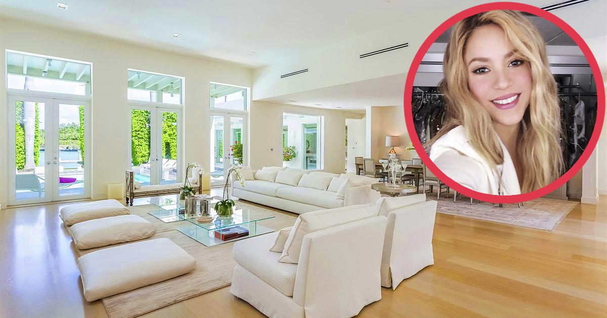 6 Rincones del interior del casoplón que compartía Shakira con su ex que ha puesto a la venta en Miami