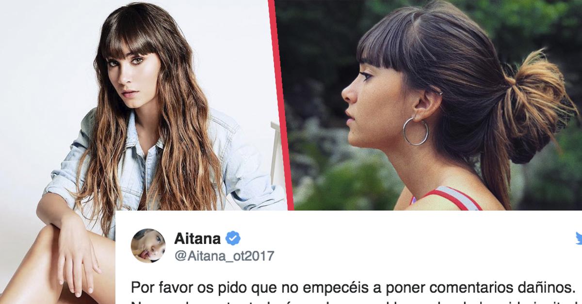 Aitana responde en redes con un contundente mensaje al lío que se ha generado tras su asistencia a un evento