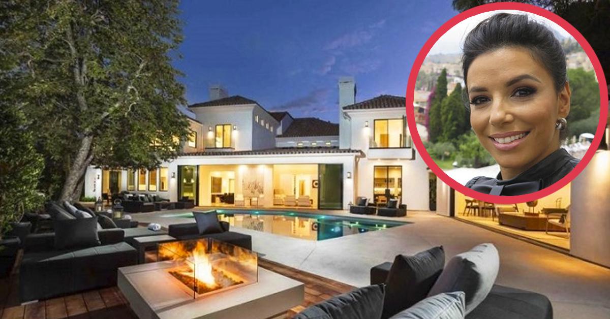 10 Imágenes de la «megamansión» de Eva Longoria cuyas habitaciones son más grandes que un apartamento entero