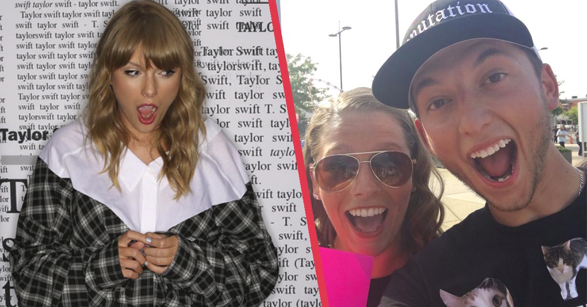 Un fan le pide matrimonio a su chica delante de Taylor Swift tras conocerse 5 años atrás en un concierto de ella