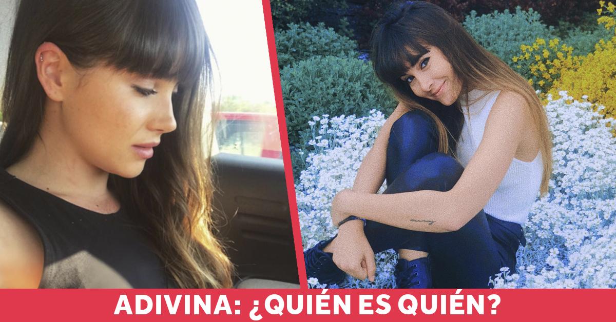 Aitana tiene una doble idéntica a ella que resulta ser una famosa actriz española y que las redes no saben distinguirlas