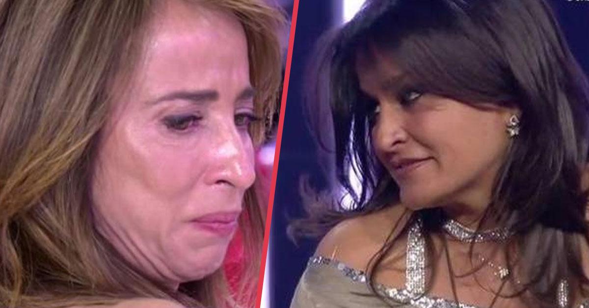«En el nombre de mi grandiosa madre» Aída Nízar se enfrenta a María Patiño por mentir supuestamente sobre su madre en directo