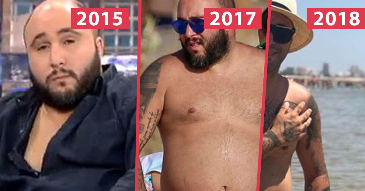 Kiko Rivera muestra el antes y el después de su cuerpo tras perder más de 42 kilos en un año