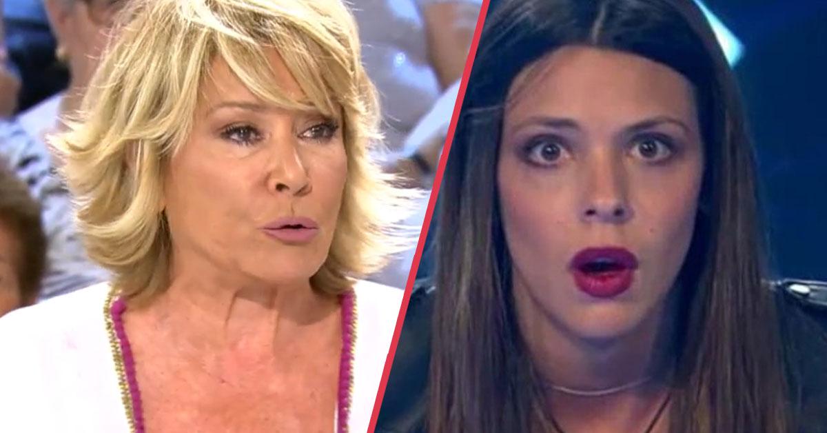 «Te ha dejado en la cuneta» Mila Ximénez ataca a Laura Matamoros en directo con un incendiario mensaje en Sálvame