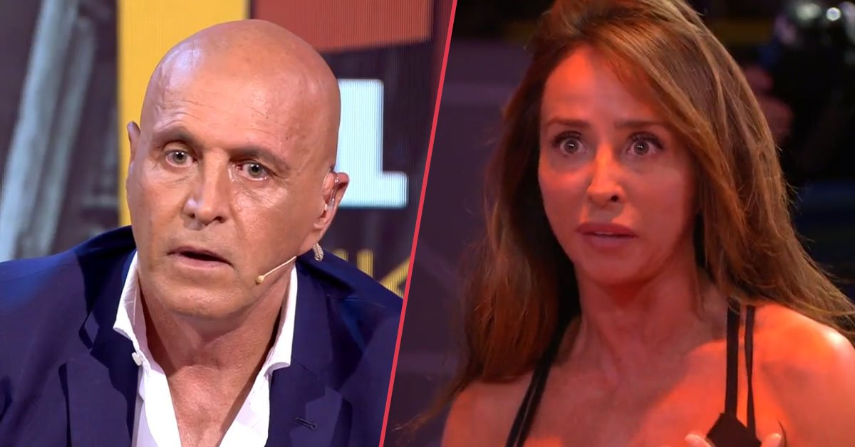 «Es la diferencia entre tu y yo» María Patiño no aguanta más y estalla en directo contra Kiko Matamoros