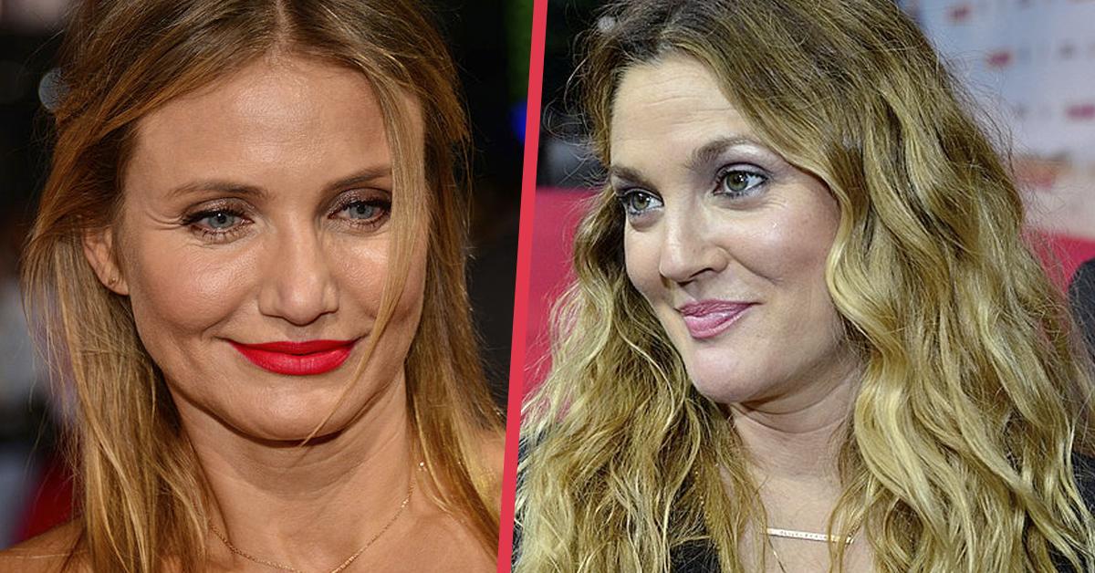 Cameron Diaz y Drew Barrymore publican un selfie sin maquillaje juntas para celebrar la belleza natural a los 40 años