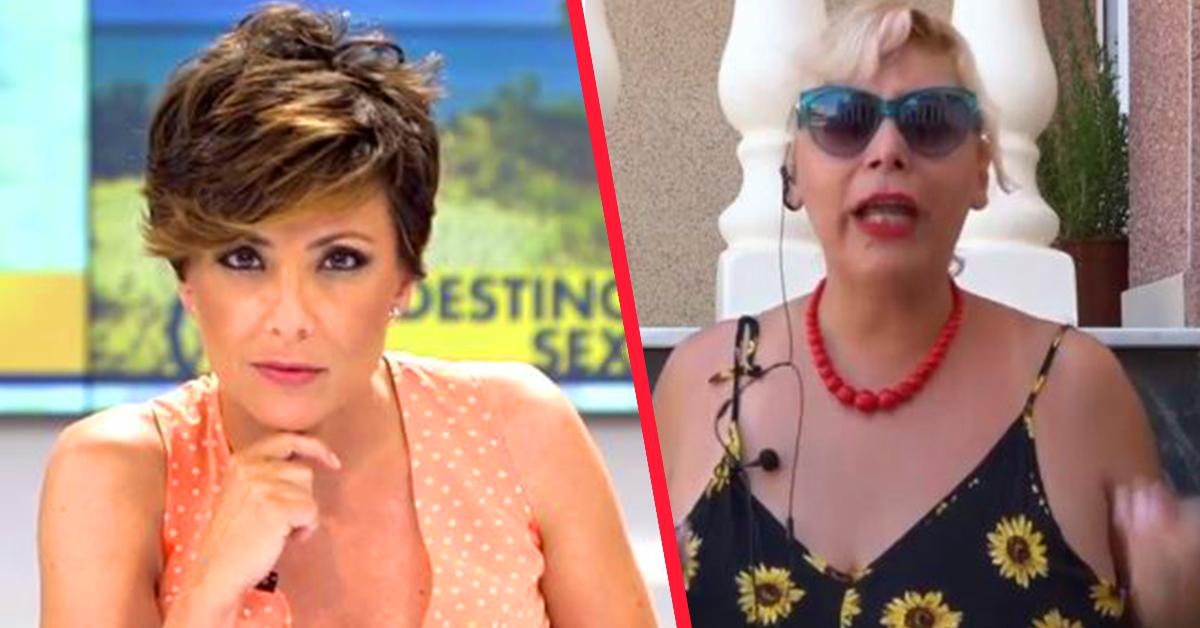 Una mujer de compañía se marcha de un programa de Telecinco en directo por el comentario de uno de los periodistas